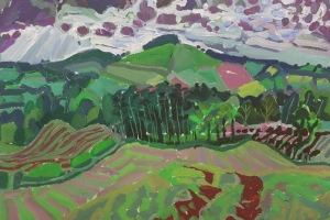 52-West-over-the-Eden-50cm-x-70cm-Acrylic-on-paper