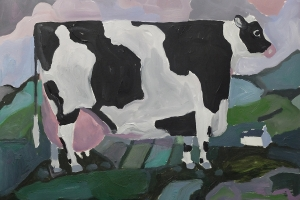 Black and White Cow 2019
