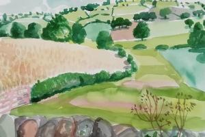 Eden Valley Watercolour 2019